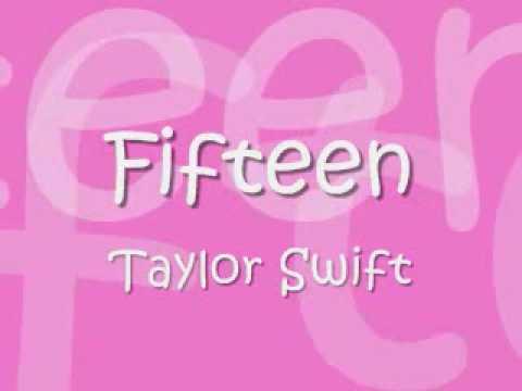 Fifteen- Taylor Swift lyrics