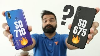 Snapdragon 675 Vs Snapdragon 710? Which is Better?? Realme Vs Redmi🔥