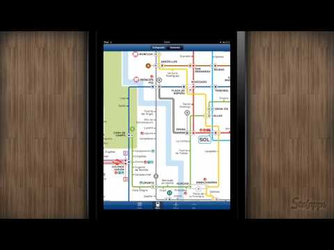 Stelapps - Madrid Offline Map [iPad]