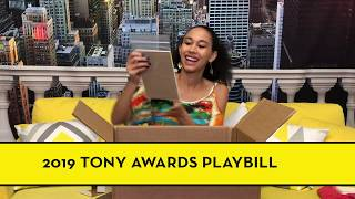 Unboxing Broadway Goodies From The Playbill Store!