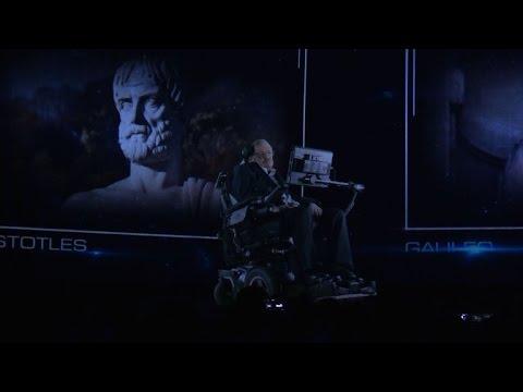 Stephen Hawking appears as hologram in Hong Kong