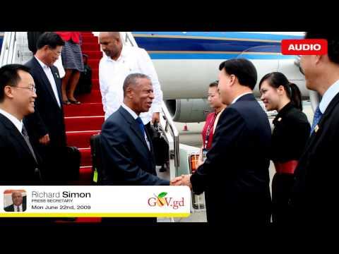 Grenada delegation ends visit to China 22.06.09