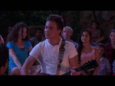 BUNKD  Xander sings This is the Night from Counselors Night Off