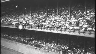 The St. Louis Cardinals beat the Philadelphia Athletics in the World Series baseb...HD Stock Footage
