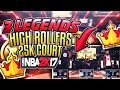 NBA 2K17 INTENSE GAME AT THE HIGH ROLLERS FT 3 LEGENDS mp3