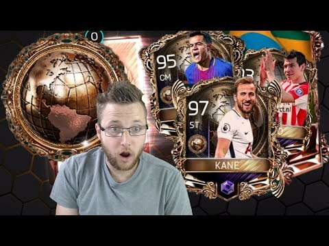 National Legends in FIFA Mobile Walkthrough! National Hero and Americas Pack Opening! 97 Master Kane