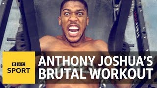 Anthony Joshua: Three gym-loving lads try to match AJ