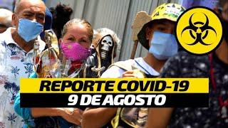 Coronavirus México | Cifras oficiales Covid 19 | 9 de agosto