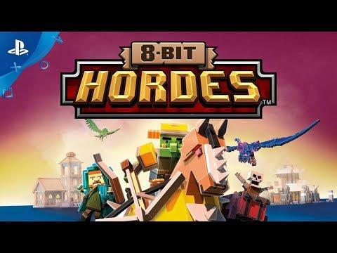 8-Bit Hordes - Gameplay Trailer   PS4