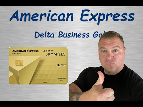 Download AMEX Business Delta Gold Credit Card Review!!!!!!