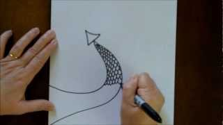 How To Draw A Dragon Tail Cartoon With Doodleacademy