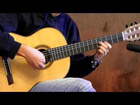 Danza - Mauro Giuliani on Classical Guitar