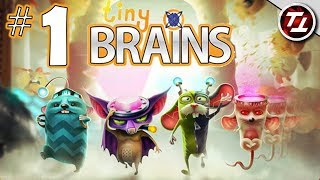 Tiny Brains #1 - Super Powered Lab Animals!