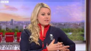 Chemmy Alcott  'I respect fear, it is me caring about my result'