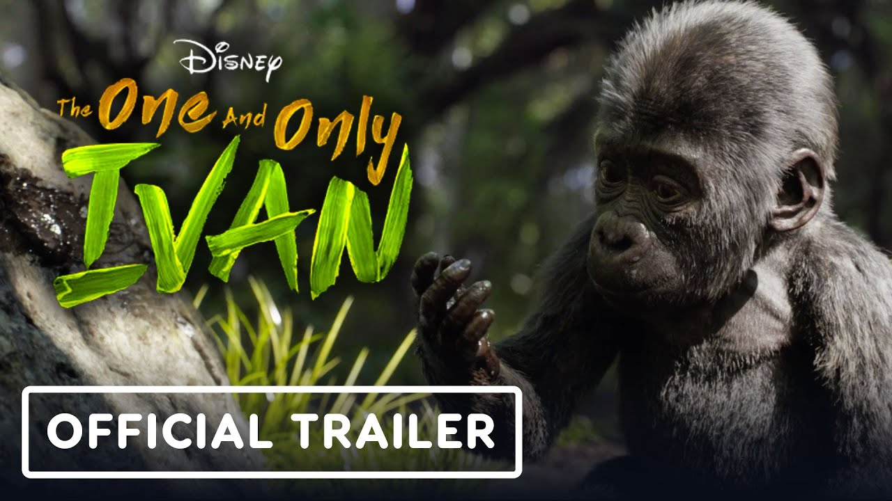The One and Only Ivan: Official Trailer (2020) - Danny DeVito, Sam  Rockwell, Bryan Cranston - YouTube