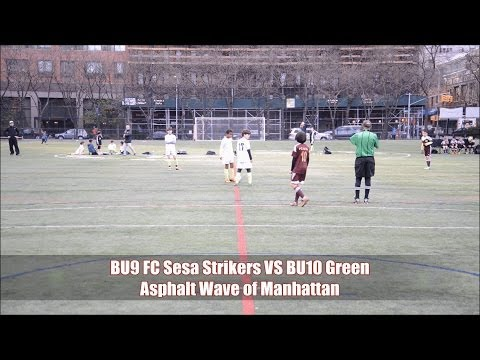 BU9 FC Sesa Strikers VS BU10 Green Asphalt Wave of Manhattan (Sun 4-27-14)