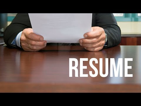 What's A Master Resume
