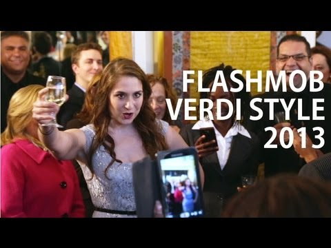 OPERA FLASH MOB 'Verdi Style'