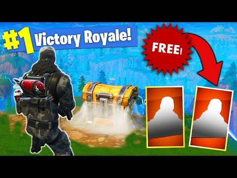 Get Two FREE LEGENDARY SKINS In Fortnite Battle Royale!