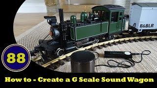 كيفية إنشاء G مقياس الصوت عربة