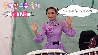 ♡버드리♡3월12일 구례산수유 축제  낮공연