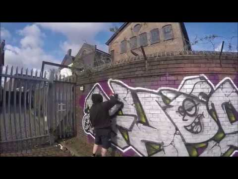 Graffiti - Ghost EA - Chrome Killer Raw Episode