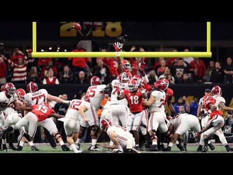 Alabama Missed Field Goals Compilation (2013-2018)
