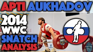 Apti Aukhadov (85kg, Russia) - Slow motion snatch Analysis