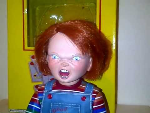 Talking Chucky Doll From Childs Play 3 Youtube