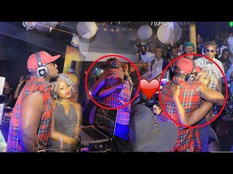 The Ben yafashwe ari mu kabyiniro ko muri Uganda yishimanye bidasanzwe na Sheebah