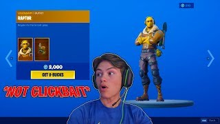 "🔴 i'll buy you the ""Raptor"" skin if you carry me to a dub! 