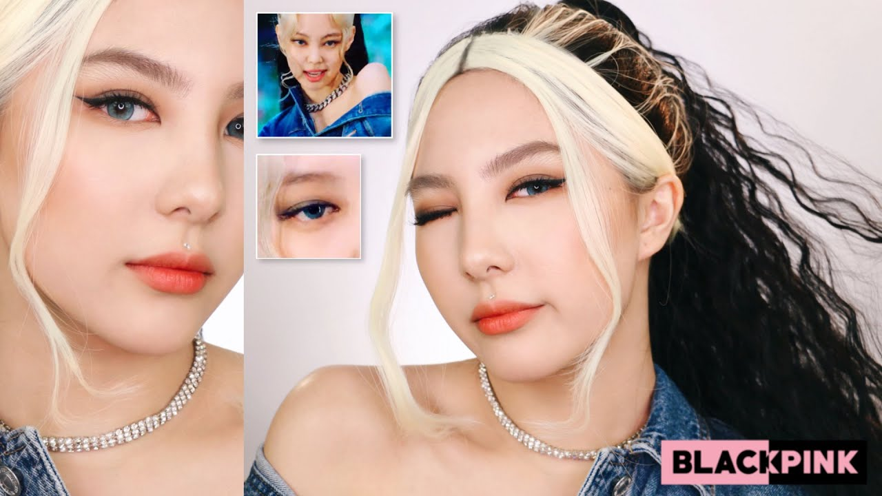 "JENNIE BLACKPINK ""How You Like That"" Makeup Transformation"