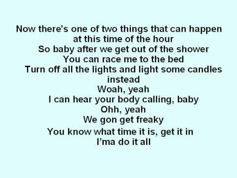Chris Brown - No bullshit With Lyrics