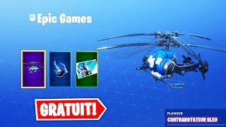 NEW FREE PS PACK (GLIDER, DRAG, ...) ! Fortnite Battle Royale