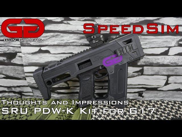 SpeedSim: Thoughts on the SRU PDW-K G17 Carbine Kit