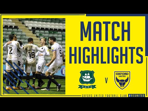 Plymouth Oxford Utd Goals And Highlights
