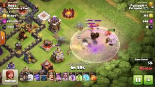 Clash of Clans - Trollando a RAINHA 40 FULL