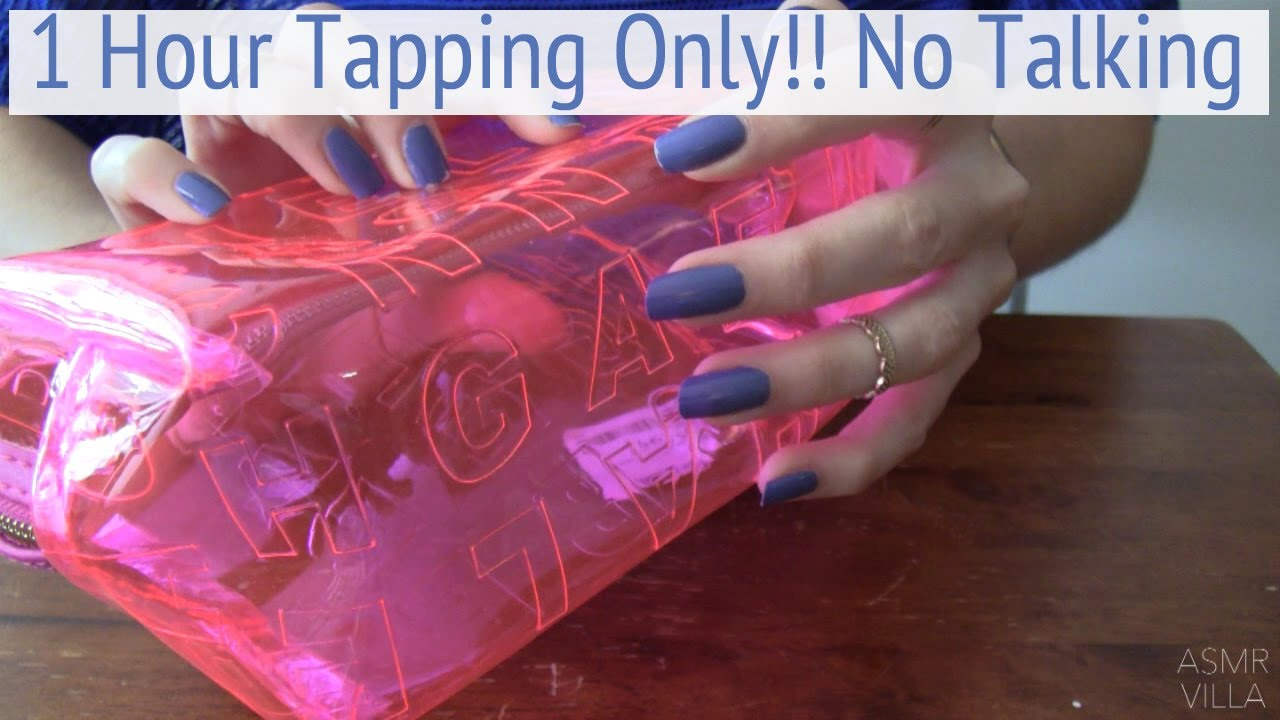 ASMR * 1 Hour Tapping Only!!! * Fast Tapping * No Talking * ASMRVilla