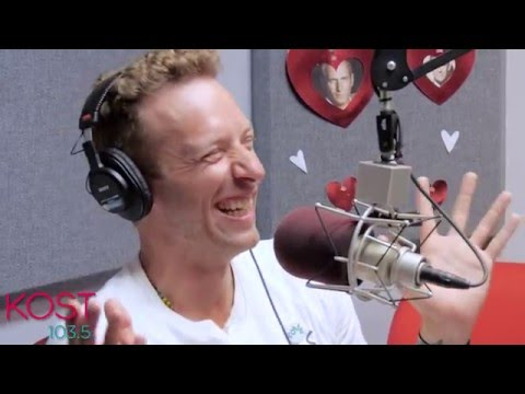 Chris Martin talks to Ellen K on KOST 103.5 - May 5, 2016