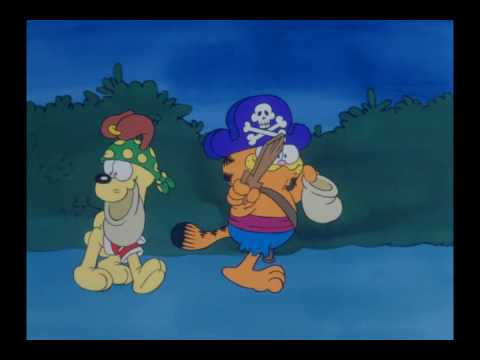Garfield Halloween - YouTube