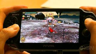 Army Corps of Hell: Boss PS Vita Gameplay (Off-Screen)