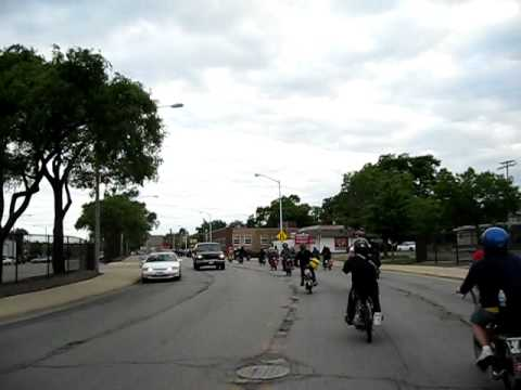 Chicago Moped Rally, Peddy Cash FTW! 2009 - YouTube