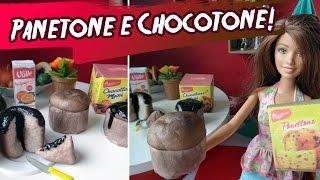 Como fazer Panetone e Chocotone para Barbie e outras bonecas!