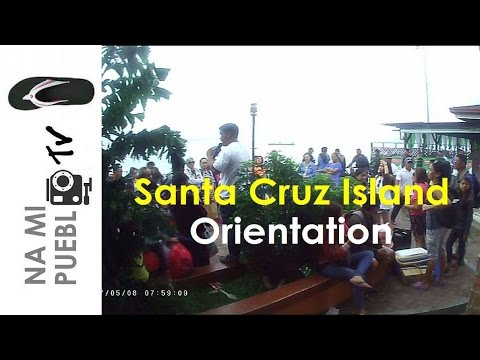 Great Sta. Cruz Island Trip - Ep.3 Orientation