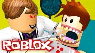 Кид Лечит зубы у злого доктора дантиста! Страшный сон или Побег в ROBLOX #КИД