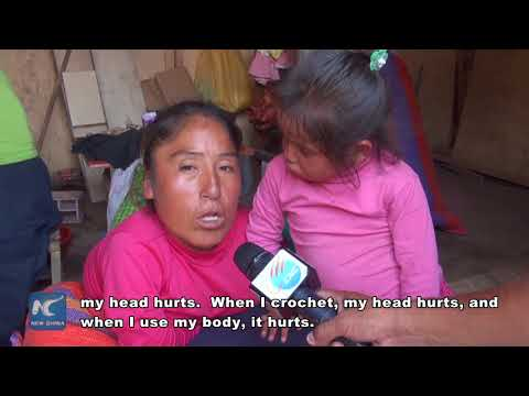 Peruvian woman overcomes physical limitations for her children