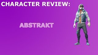 Abstract Outfit Review + Skin Showcase! Fortnite Battle Royale