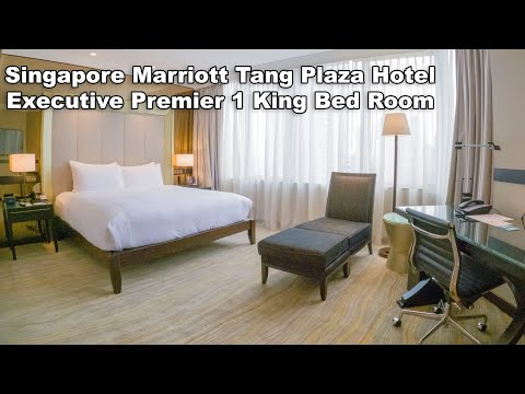 Singapore Marriott Tang Plaza Hotel Executive Premier 1 King Bed Club Room (Room number 2715)