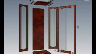 3d Furniture In Autodesk Inventor, Display Cabinet.avi