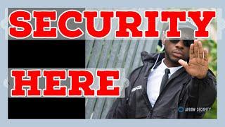 Security Guard Company Arlington Virginia - Arrow Security